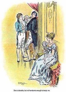 Pride and Prejudice. Illustration by C. E. Brock, 1895.