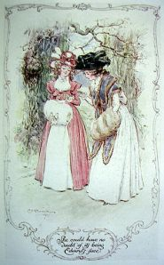 Sense and Sensibility. Illustration by C. E. Brock