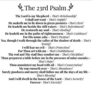 23rdPsalm